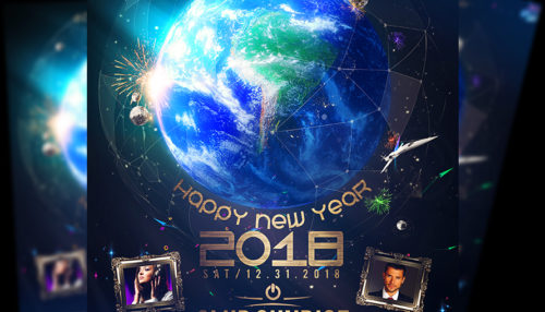 A4 New Years Eve Poster