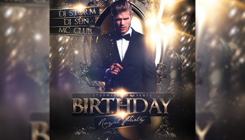 Birthday Party Flyer V2
