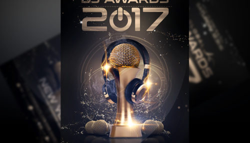 DJ Awards Flyer Template