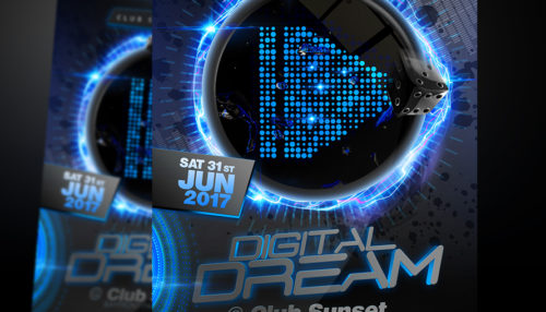 Digital Dream Flyer Template