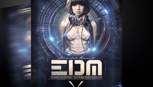 EDM DJ Flyer Template
