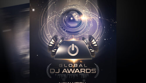 Global DJ Awards Flyer Template