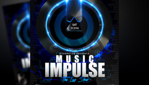 Music Impulse Flyer
