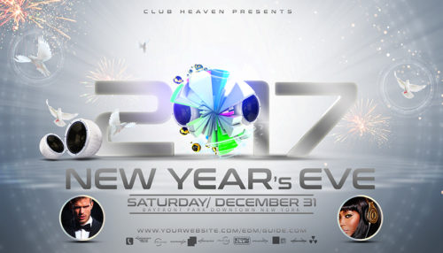 New Years Eve Flyer Template 2nd Edition