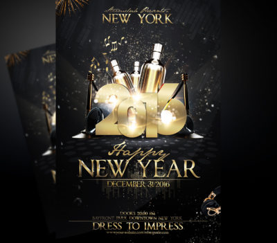 New Years Eve Flyer Template