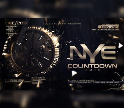 New Years Eve Flyer Template 5