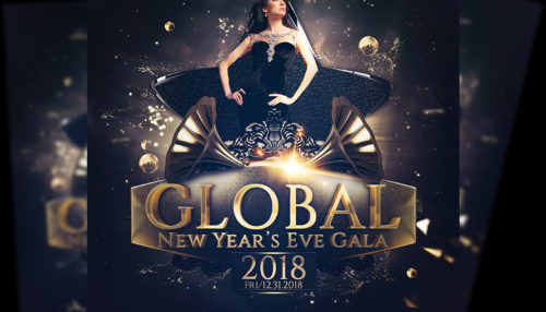 New Years Eve Gala Poster