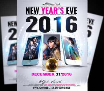 New Years Eve Poster V1
