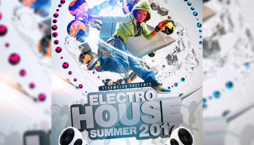 Summer House Party Flyers