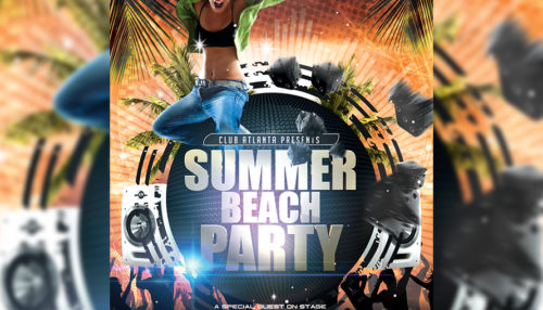 Summer Party Flyer Template_4
