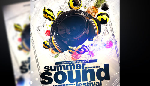 Summer Party Flyer V3
