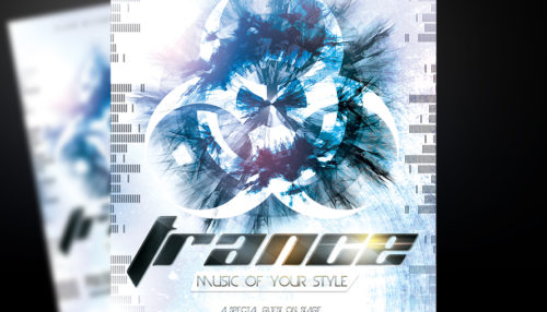 Trance Event Flyer Template