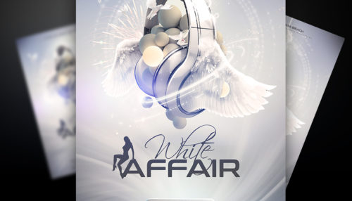 White Affair Flyer Template