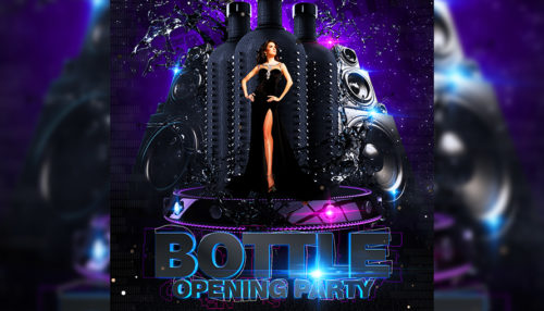 Bottle Party Flyer
