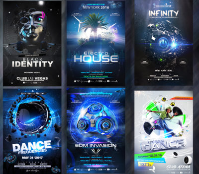 Ultimate Party Flyer Electro Bundle
